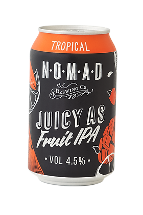 NOMAD JUICY AS FRUIT TROPICAL IPA 6 PACK
