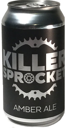 KILLER SPROCKET AMBER ALE 4 PACK