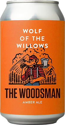 WOLF OF THE WILLOWS THE WOODSMAN AMBER ALE 6 PACK