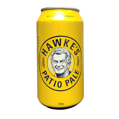 HAWKE'S PATIO PALE ALE 6 PACK