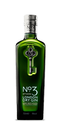 NO.3 LONDON DRY GIN 750ML