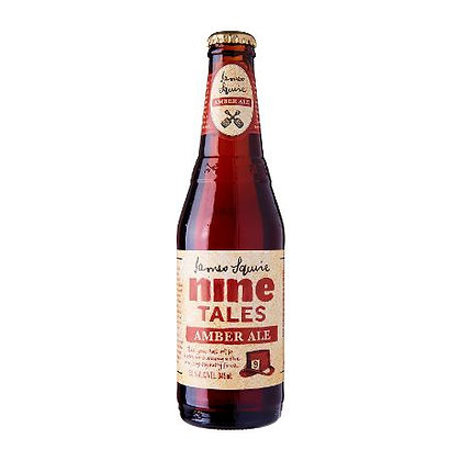 JAMES SQUIRE AMBER ALE 6 PACK