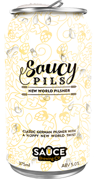 SAUCE BREWING SAUCY PILS 4 PACK