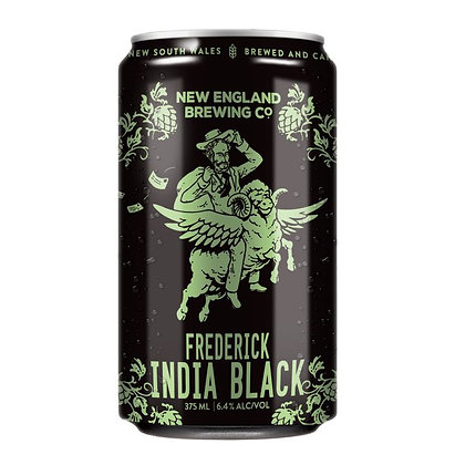 NEW ENGLAND FREDERICK INDIA BLACK 6 PACK