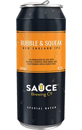SAUCE BUBBLE & SQUEAK 500ML 4 PACK