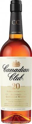 CANADIAN CLUB 20YO