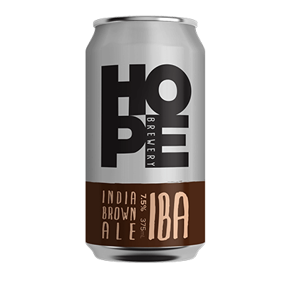 HOPE ESTATE INDIA BROWN ALE 4 PACK