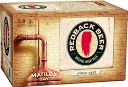 REDBACK ORIGINAL WHEAT BEER