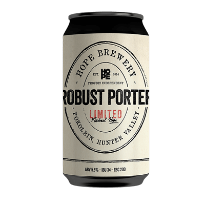 HOPE BREWING ROBUST PORTER 4 PACK