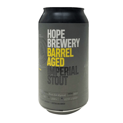 HOPE BREWERY BARREL AGED IMPERIAL STOUT 4 PACK