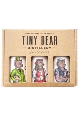 TINY BEAR SMALL BATCH HANDCRAFTED GIN TRIO PACK