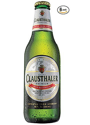 CLAUSTHALER NON ALCOHOLIC BEER