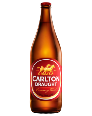 CARLTON DRAUGHT 750ML