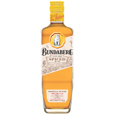 BUNDY SPICED RUM