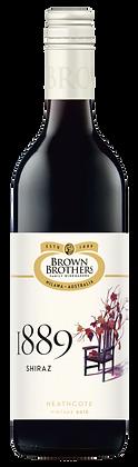 BROWN BROTHERS 1889 SHIRAZ 2018