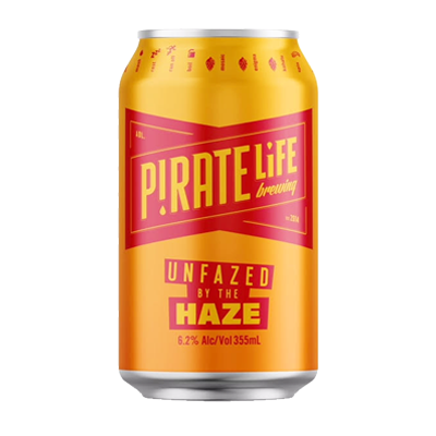 PIRATE LIFE UNFAZED BY THE HAZE IPA  6PACK