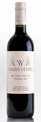 YARRA YERING DRY RED WINE No 1 2013