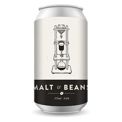 NEW ENGLAND MALT & BEANS COFFEE STOUT