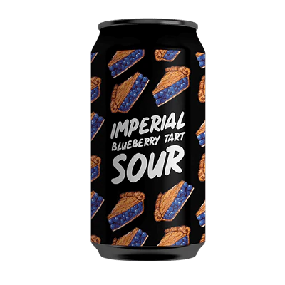 HOPE BREWING IMPERIAL BLUEBERRY TART SOUR