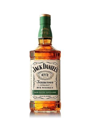 JACK DANIELS RYE STRAIGHT WHISKEY