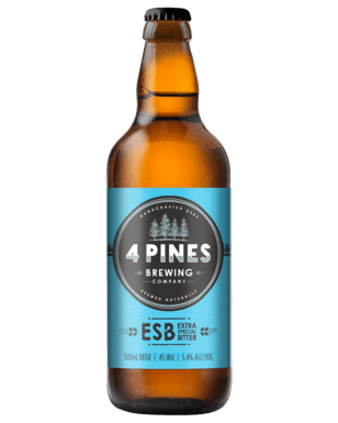 4 PINES EXTRA SPECIAL BITTER (ESB) 500ML 12 PACK