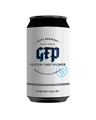 HOPE BREWING GLUTEN FREE PILSNER