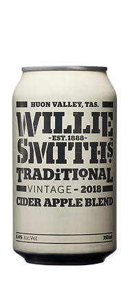 WILLIE SMITHS TRADITIONAL APPLE CIDER 4 PACK
