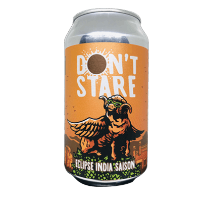 NEW ENGLAND BREWING DONT STARE ECLIPSE INDIA SAISON