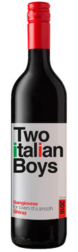 TWO ITALIAN BOYS SANGIOVESE