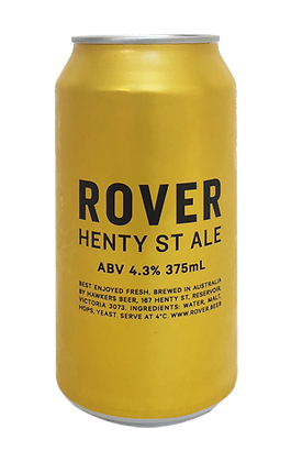 ROVER HENTY ST ALE 6 PACK