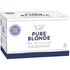 PURE BLONDE LOW CARB LAGER
