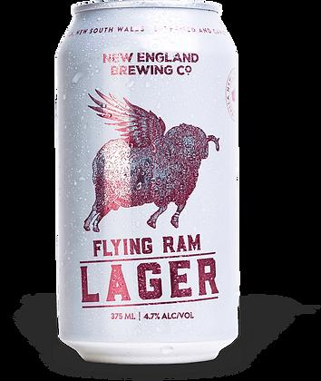 NEW ENGLAND BREING FLYING RAM LAGER 6 PACK