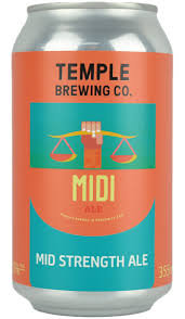 TEMPLE BREWING CO MIDI 6 PACK