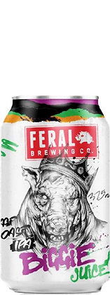 FERAL BREWING CO. BIGGIE JUICE IPA