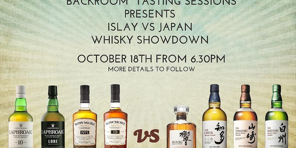Islay vs Japan Whisky Challenge