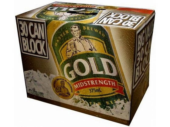 TOOHEYS GOLD 30 PACK