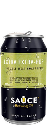 SAUCE BREWING EXTRA EXTRA HOP DOUBLE WEST COAST IPA