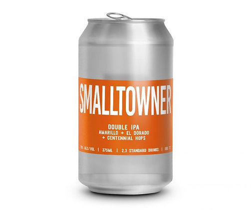 NEW ENGLAND BREWING SMALLTOWNER DOUBLE IPA 6 PACK