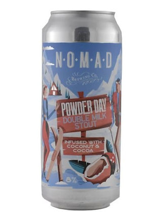 NOMAD POWDER DAY DOUBLE MILK STOUT 4 PACK