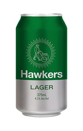 HAWKERS LAGER 6 PACK