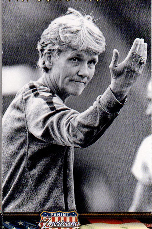 Magnet USA soccer coach Pia Sundhage