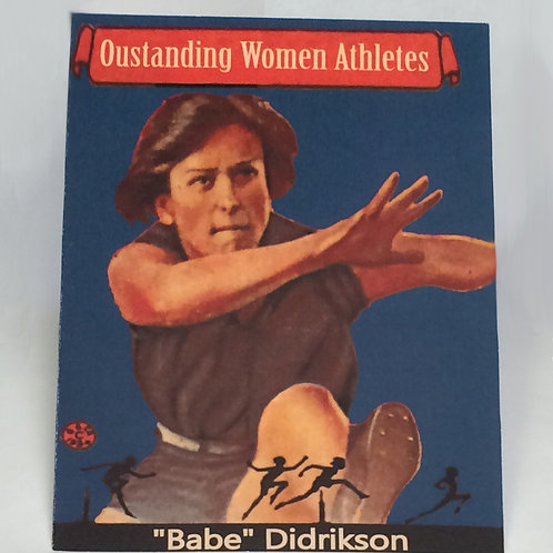 Greeting card - Babe Didrikson set of 6 cards