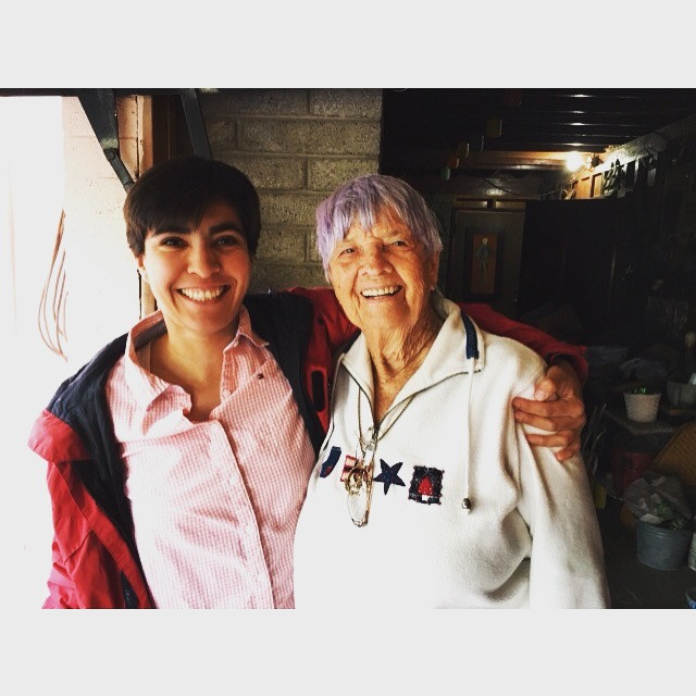 Alba Rodriguez and Dot Wilkinson