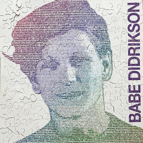 Babe Didrikson puzzle - full