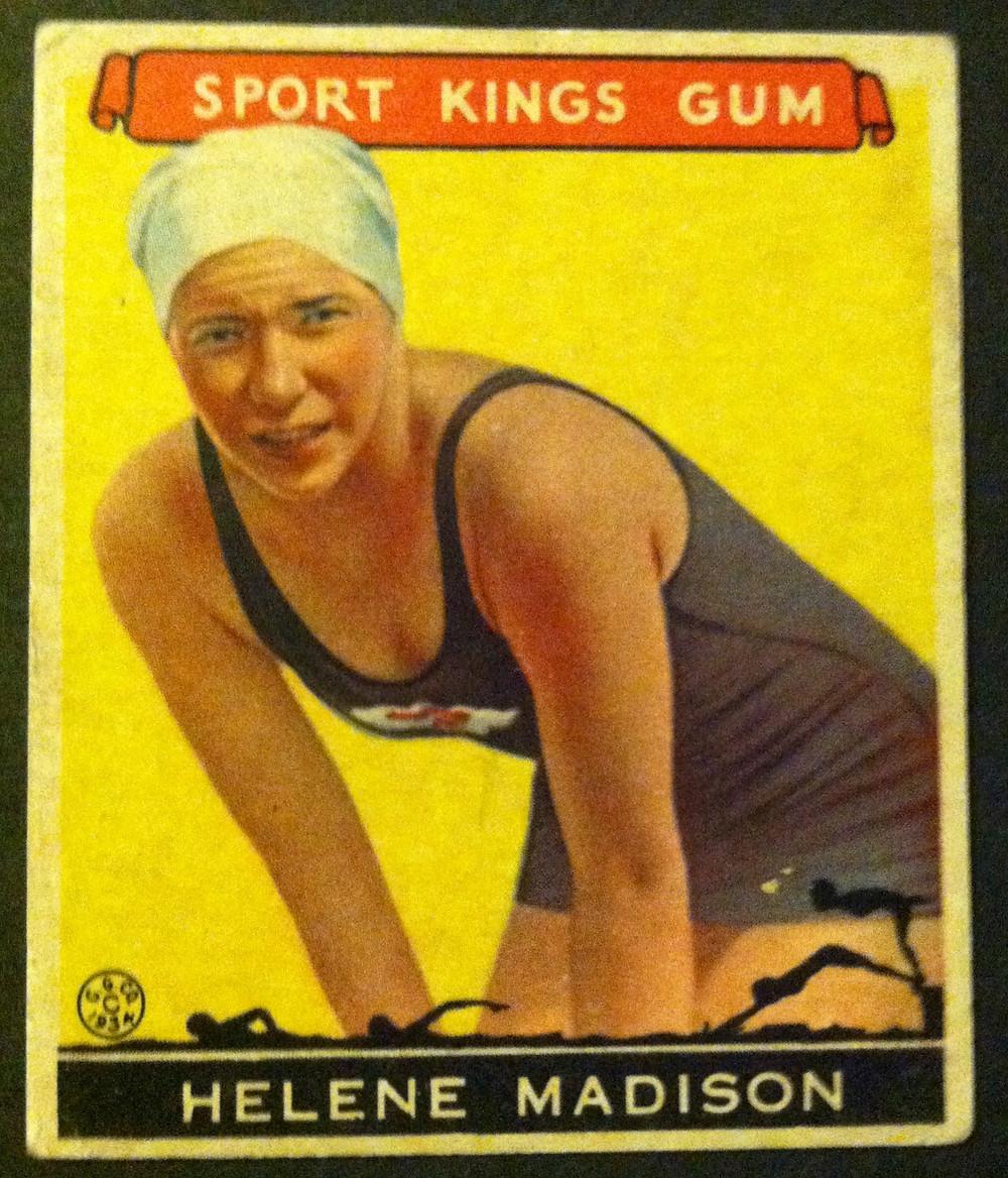 Goody Sport Kings Gum card, 1933