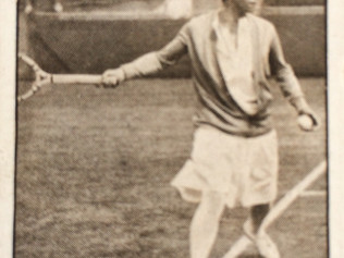 Molla Mallory, a Navratilova-esque champion of the 1920's.