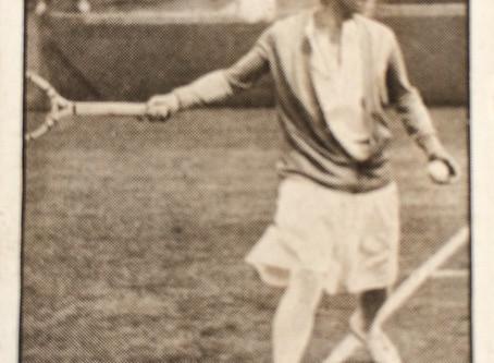 Molla Mallory, a Navratilova-esque champion of the 1920's.