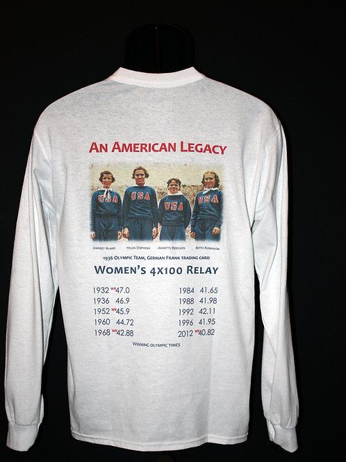 """American Legacy"" 4 x 100 Olympic Relay LS"