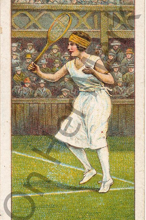 Suzanne Lenglen, tennis