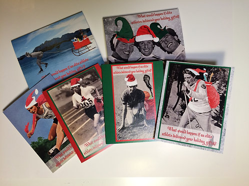 Holiday card set of all 6